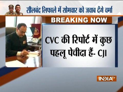 CBI vs CBI: No clean chit to Alok Verma yet, SC seeks his reply over CVC report