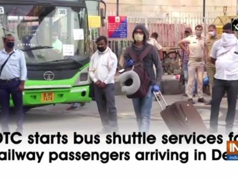DTC starts bus shuttle services for railway passengers arriving in Delhi