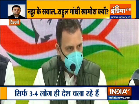 Farm laws designed to 'destroy' India's agriculture: Rahul Gandhi