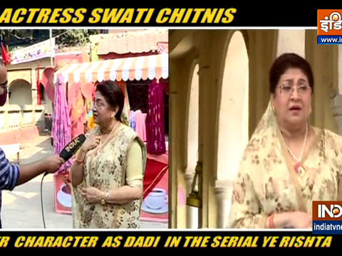 Actress Swati Chitnis speaks about her show Yeh Rishta Kya Kehlata Hai