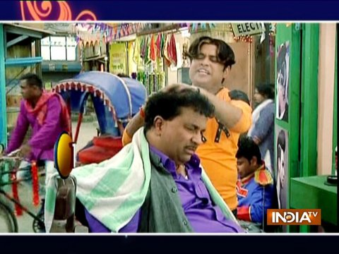 Chhote gets a masage but is it a torture?