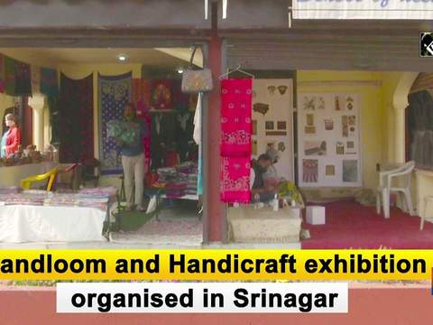 Handloom and Handicraft exhibition organised in Srinagar