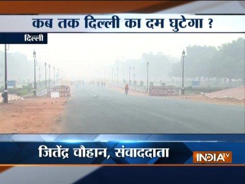 दिल्ली में हवा की गुणवत्ता गंभीर, पेट्रोल और डीजल गाड़ियां हो सकती हैं बैन