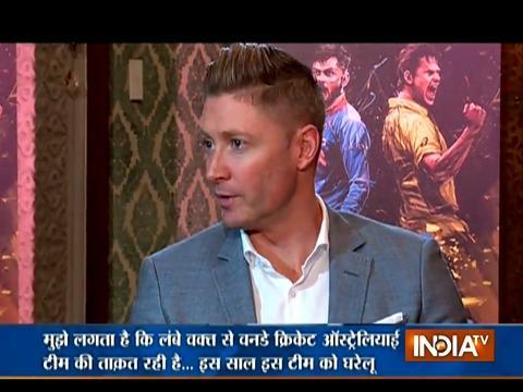 Very challenging for Australia to stop Virat Kohli: Michael Clarke to India TV