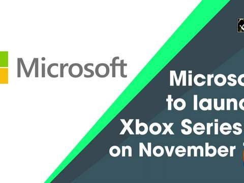 Microsoft to launch Xbox Series X on November 10