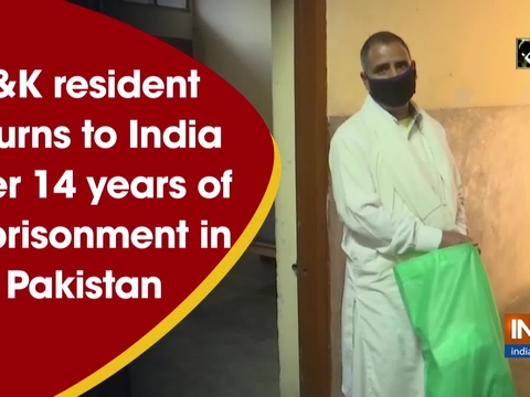 Jammu and Kashmir resident returns to India after 14 years of imprisonment in Pakistan