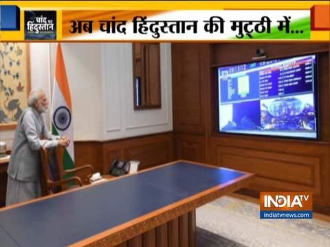 प्रधानमंत्री नरेंद्र मोदी ने चंद्रयान -2 के सफल लॉन्च के लिए इसरो को दी बधाई