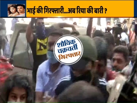 NCB arrests Showik Chakraborty and Samuel Miranda