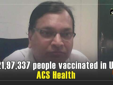 1,21,97,337 people vaccinated in UP: ACS Health