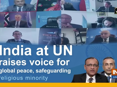 India at UN raises voice for global peace, safeguarding religious minority