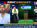 Avesh Khan tells story behind taking Rohit Sharma's autograph in IPL 2021