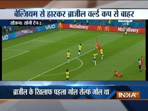 FIFA World Cup 2018: Belgium eliminate Brazil to set up semis clash against France