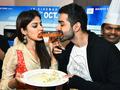 Mahesh Bhatt, Rhea Chakraborty, Varun Mitra share fun moments while promoting Jalebi
