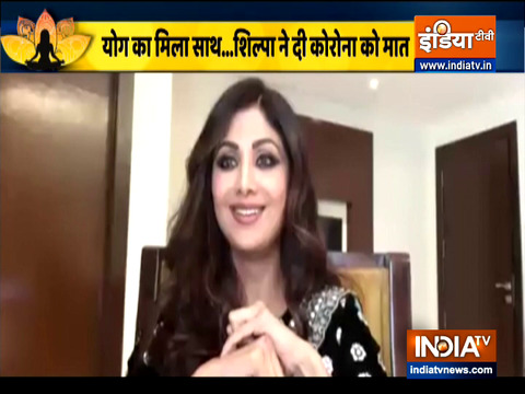 Shilpa Shetty's positive message on the occasion of International Yoga Day 2021