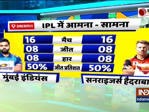 MI vs SRH : मुंबई इंडियंस ने टॉस जीतकर लिया बल्लेबाजी करने का फैसला