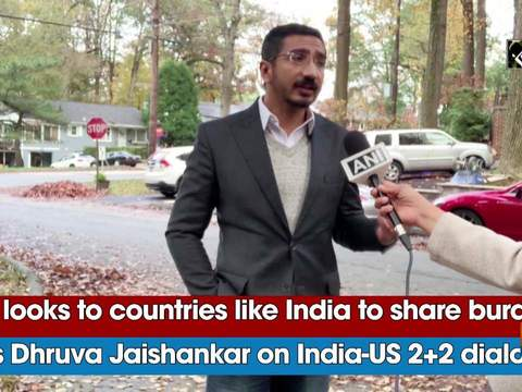 'US looks to countries like India to share burden,' says Dhruva Jaishankar on India-US 2+2 dialogue