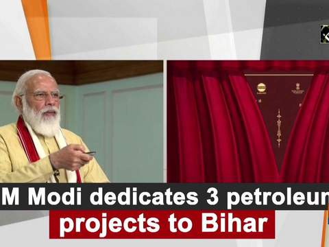 PM Modi dedicates 3 petroleum projects to Bihar