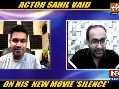 Actor Sahil Vaid talks about his new movie 'Silence Can You Hear It'