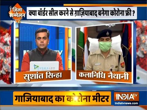 We are conducting aggressive testing: Ghaziabad SSP Kalanidhi Nethani
