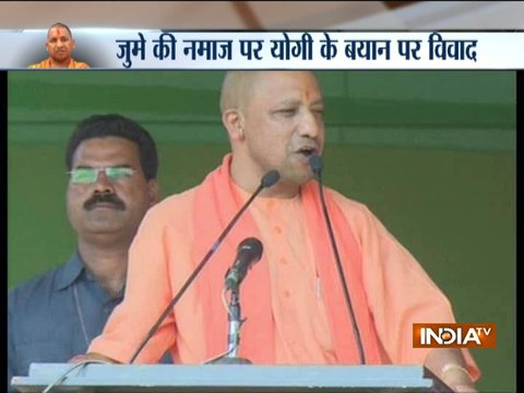 UP CM Yogi Adityanath stirs controversy over his remark on Friday namaz