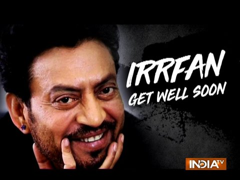 Bollywood celebrities pour in good wishes for ailing Irrfan Khan