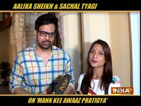 Aalika Sheikh, Sachal Tyagi on their role in Mann Kee Awaaz Pratigya 2 and more