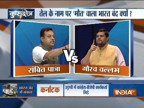 Kurukshetra | Sept 10: Oppn Took to Violence to Make Bharat Bandh a Success, says BJP