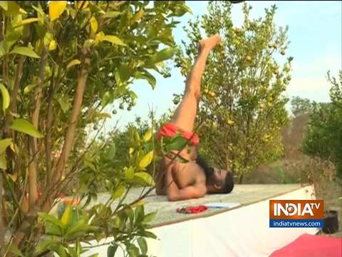 Swami Ramdev shares yoga asanas for a healthy body