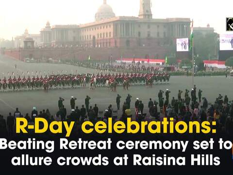 R-Day celebrations: Beating Retreat ceremony set to allure crowds at Raisina Hills