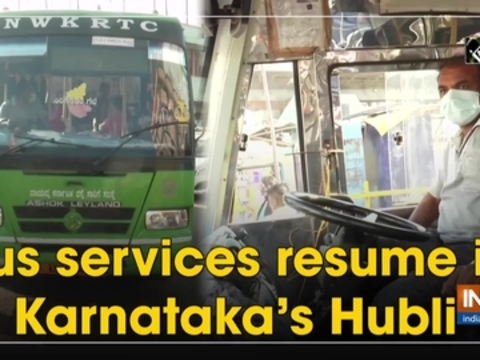 Bus services resume in Karnataka's Hubli