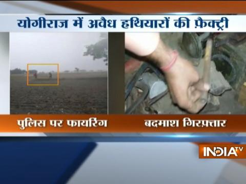 Illegal arms-factory busted in Mathura, 3 arrested