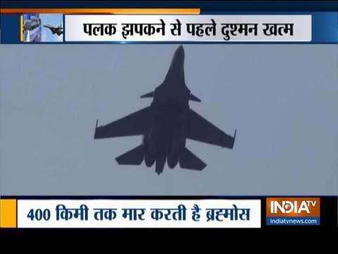 ब्रह्मोस मिसाइल से लैस हुआ भारतीय वायुसेना का सुखोई विमान
