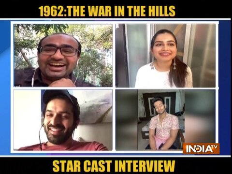 Star cast of the '1962: The War in the Hills' speaks to India Tv