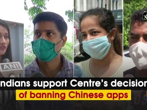 Indians support Centre's decision of banning Chinese apps