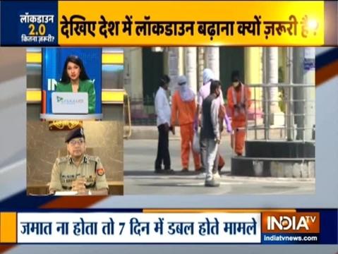 लखनऊ संयुक्त सीपी नवीन अरोड़ा ने COVID19 से लड़ने की व्यवस्था पर इंडिया टीवी से की बातचीत