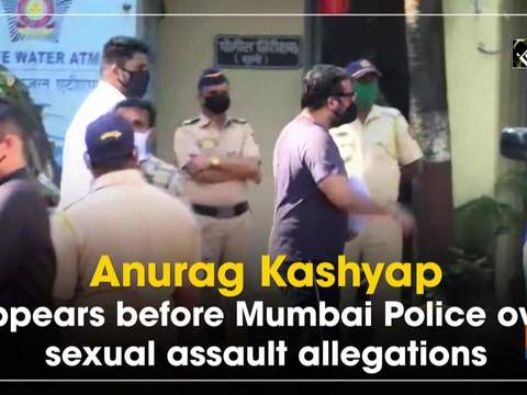 Anurag Kashyap appears before Mumbai Police over sexual assault allegations