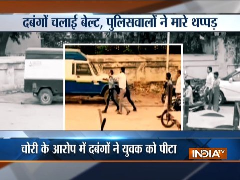 Youth brutally assaulted by public over alleged theft in Shamli