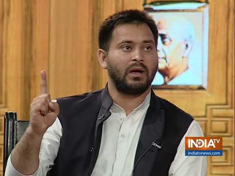 Tejashwi Yadav in Aap Ki Adalat (Election Special)
