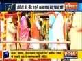 Special News   Amit Shah offers prayers at Hyderabad's Bhagyalakshmi temple