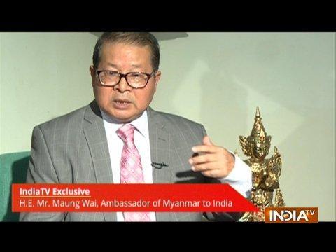 IndiaTV Exclusive: Maung Wai, Ambassador of Myanmar to India talks over Rohingya Crisis