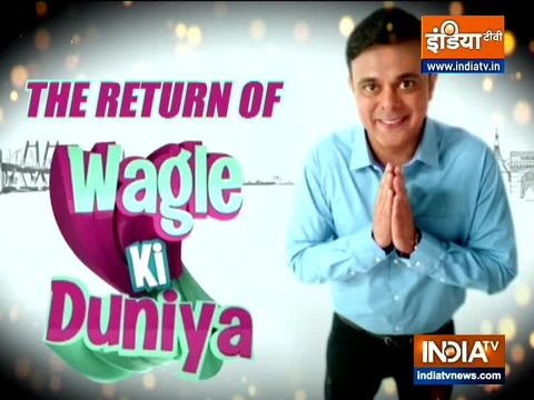 Actor Sumeet Raghavan and Pariva Pranati talk about their show Wagle ki Duniya