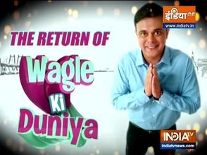 Actor Sumeet Raghavan and Pariva Pranati talk about their show Wagle ki Duniya