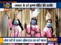 Gods in Haridwar temple get masks to encourage people to take coronavirus precautions