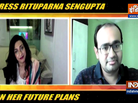Actress Rituparna Sengupta on her future plans