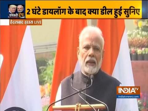 भारत-अमेरिका के बीच रक्षा संबंधों में मजबूती हमारी साझेदारी का एक महत्वपूर्ण पहलू है: पीएम मोदी