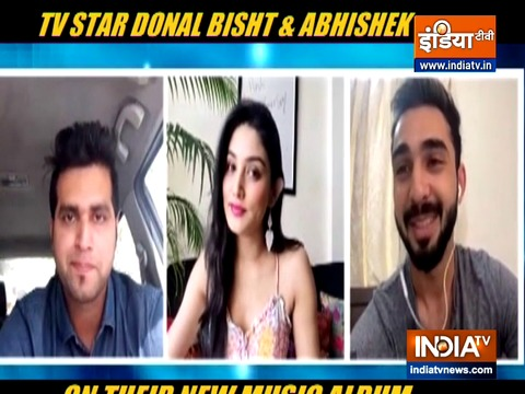TV actors Abhishek and Donal Bisht speak to India TV about their music album