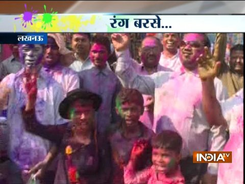 Holi celebrations in Delhi, Mumbai, Lucknow, Bhopal, Nagpur