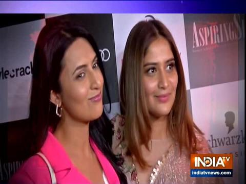 Hunar Ali, Juhi Parmar and other TV actresses attend Women's Day special brunch