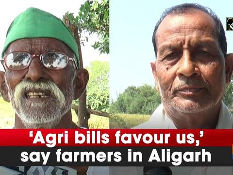 'Agri bills favour us,' say farmers in Aligarh