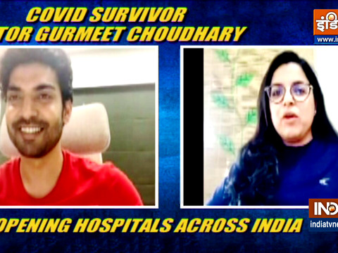 Gurmeet Choudhary on opening Covid hospitals across India